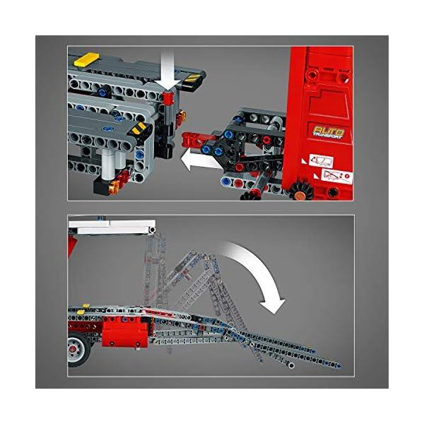 LEGO - Technic Bisarca con Auto da Trasportare,Modello 2in1,Set di Costruzioni Avanzato, 42098 5 spesavip