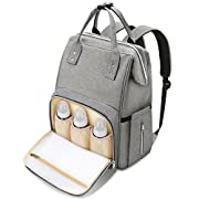 Diaper Bag Backpack Baby Bag - MOSPRO Multi Function Large Capacity Waterproof Travel Backpack with Stroller Straps for Baby Care, Stylish and Durable, Perfect Baby Shower Gifts