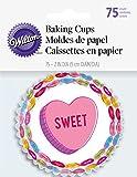 Wilton Standard Baking Cups-Words Can Express 75/Pkg, Multi