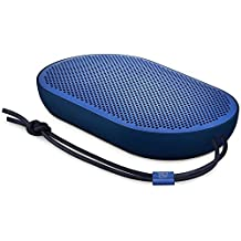 B&O Play 1280479 by Bang & Olufsen Beoplay P2 Portable Bluetooth Speaker with Built-in Microphone, Royal Blue