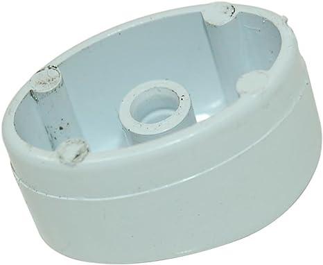 Genuine Indesit Lavadora Push Button Knob White: Amazon.es ...