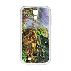 Cool painting Creative Creative Dinosaurs Family Custom Protective Hard Phone Cae For Samsung Galaxy S4