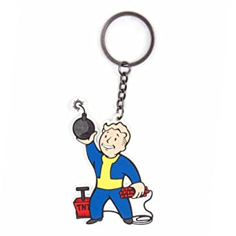 Import Europe - Llavero Fallout Vault Boy Explosives Skill ...