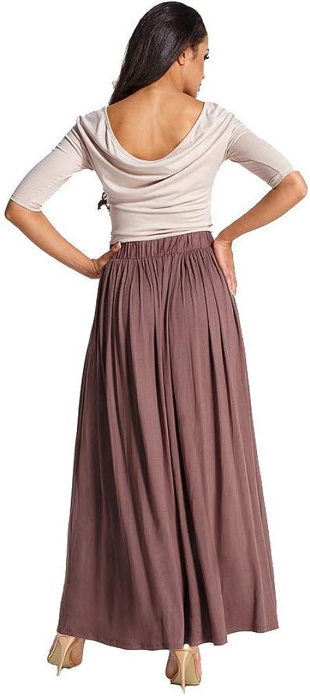 113EM OxydCollection Damen Kleid Lang Maxikleid Abendkleid Cocktailkleid Strand