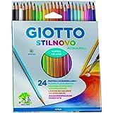 Lápis de Cor Aquarelável 24 Cores Stilnovo Giotto
