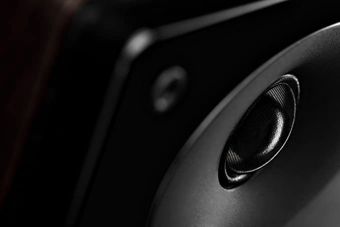 SWANS D1010MKII Set de Altavoces de Ordenador,2x17W Potencia máxima, subwoofer de 4