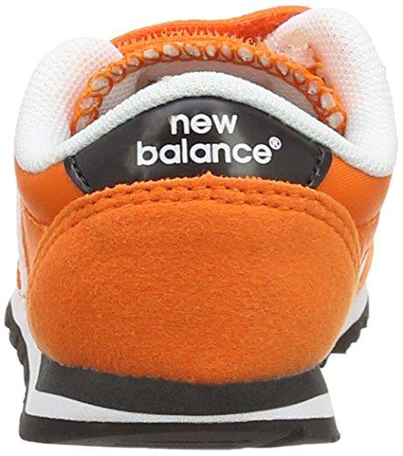 6bc8f76eb New Balance KV396 Kids Lifestyle Velcro Zapatillas de deporte para bebés  niños Orange White