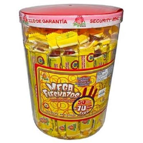 El Azteca Mega Flechazos Hot & Salt Tamarind flavor candy, 50 count Review