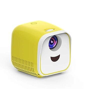 LISHUANG L1 Proyector for niños Mini Mini LED Proyector de Altavoz ...