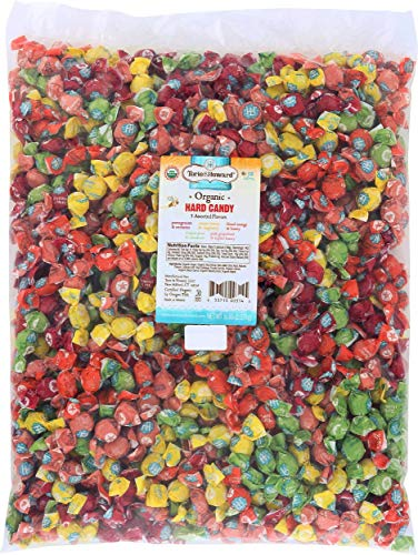 Torie and Howard Organic Hard Candy Bulk Candy, Five Assorted Flavors, 5 pound ()