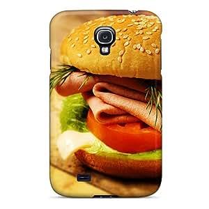Perfect Fit ZMbFSTd6338BiyyG Hamburger With Bacon Case For Galaxy - S4