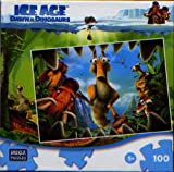 Ice Age Dawn of the Dinosaurs 100 Piece Puzzle - Jaws