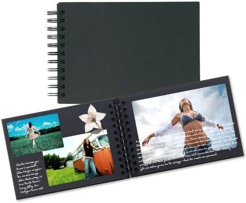 182229 – Scrapbook – Álbum fotográfico (A4, 40 hojas, 225 gr/m² – Único Pack. superstabil y Exclusiv.: Amazon.es: Jardín