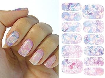 Kompletter Wrap Nail Art Wasser Transfer Aufkleber Sticker K5711b K5711b Nail Sticker Tattoo Fashionlife