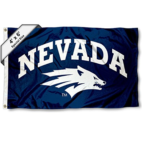 Nevada Wolfpack 4'x6' Flag