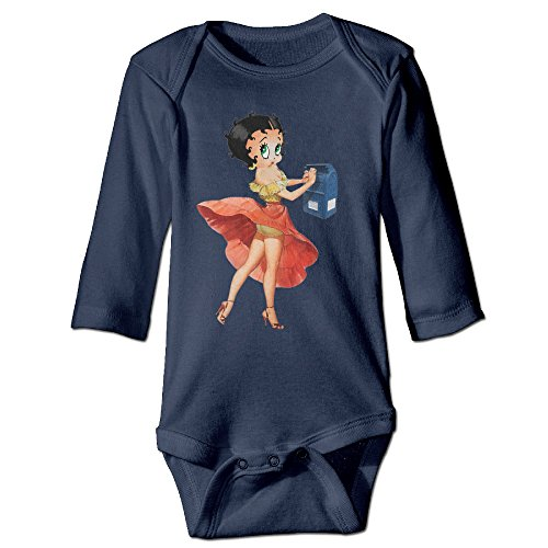 baby-100-cotton-long-sleeve-onesies-toddler-bodysuit-betty-boop-babysuits-navy-size-24-months