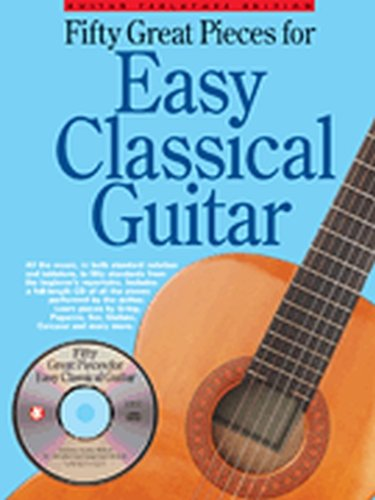 (Fifty Great Pieces for Easy Classical Guitar - Softcover with CD)