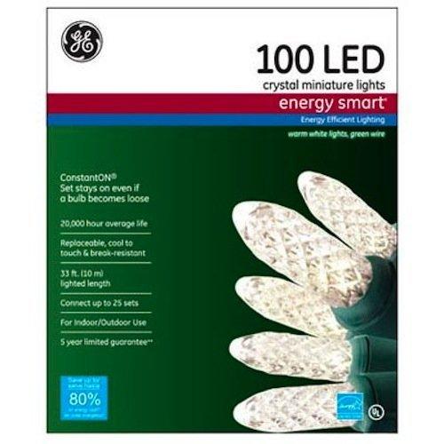 Ge 100 Led Crystal Miniature Lights