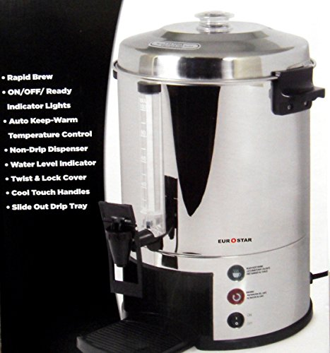 100 cup coffee maker urn - 6