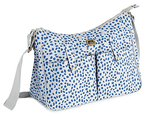 Todos los días lista de detención de patrón de las bolsas de (color gris y color azul y)
