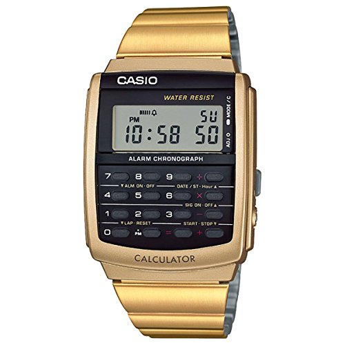 Casio Databank CA506G-9AVT Calculator Watch (Watch Calculator Vintage)