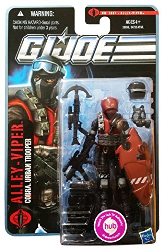 - G.I. Joe Pursuit of Cobra Alley Viper Urban Trooper 3 3/4 Inch Action Figure