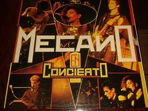 Mecano En Concierto 1986 LP Venezuelan Pressing: Mecano ...