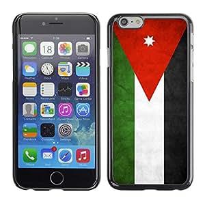 "Shell-Star ( National Flag Series-Jordan ) Fundas Cover Cubre Hard Case Cover para 4.7"" iPhone 6"