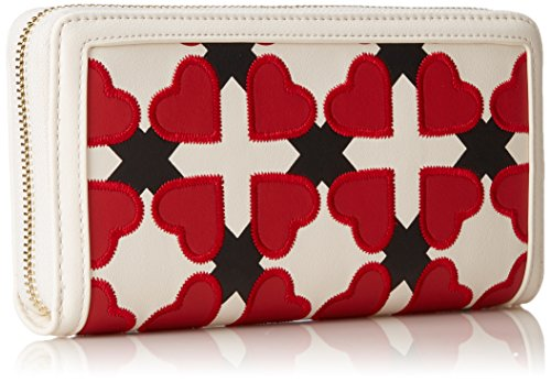 B 4x11x20 red H T Portaf femme Multicolore Avorio cm nero Ivory Love Moschino rosso black Pu Pochettes x 67H1aFqwP