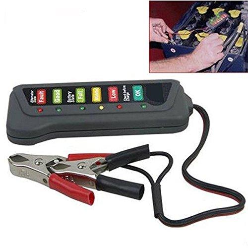 et alternateur de charge Test de charge de la batterie SODIAL 12V batterie de voiture et alternateur testeur indication LED