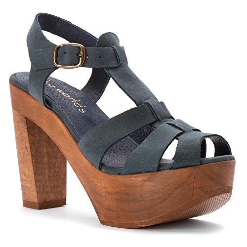 Five Worlds by Cordani Women's Tecate Platform Sandal, Blue, 6 M US