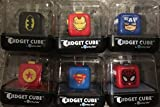 Fidget Cube Toy for Adults & Kids SET OF 6 ASSORTED SUPER HEROES Relieve Stress & Anxiety Hand Fidget Stress Reducer Best for ADD,ADHD,OCD,Anxiety Disorder,Autism by Antsy Labs