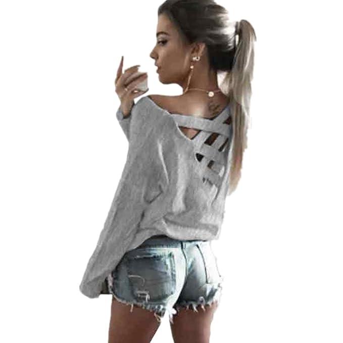 Pullover Damen Dorame Frauen Mode Verband Bluse Lange Armel Lockere