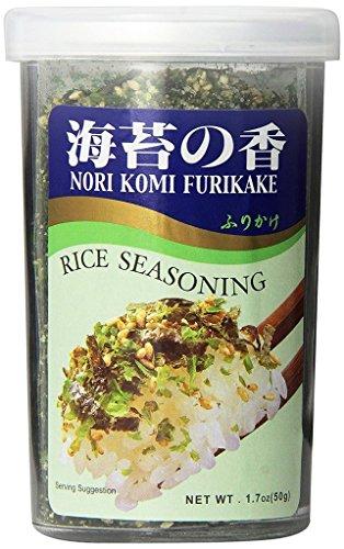 JFC - Nori Komi Furikake (Rice Seasoning) 1.7 Ounce Jar (pack of 3) by JFC (Image #1)