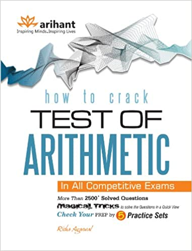 Buy How to Crack - Test of Arithmetic Book Online at Low