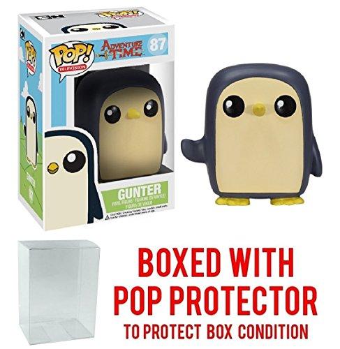 Funko Pop  Tv  Adventure Time   Gunter Vinyl Figure  Bundled With Pop Box Protector Case