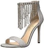 Jessica Simpson Women's JIENA, Silver, 5.5 Medium US