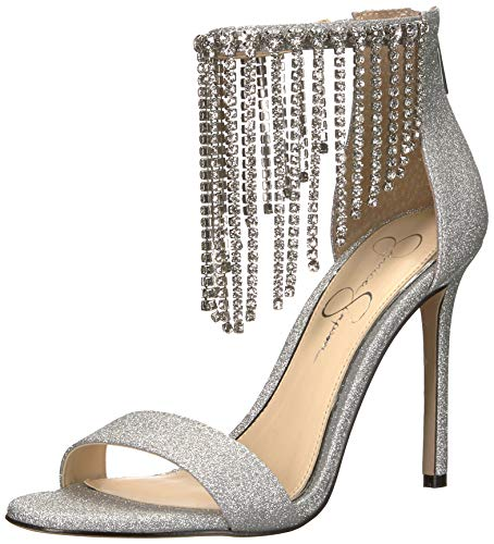 (Jessica Simpson Women's JIENA, Silver 9 Medium US)