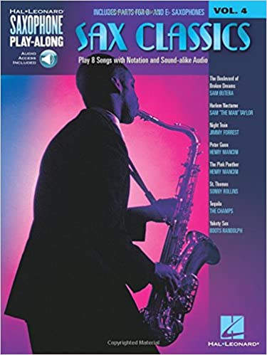 Saxophone Play-Along Volume 4 Sax Classics