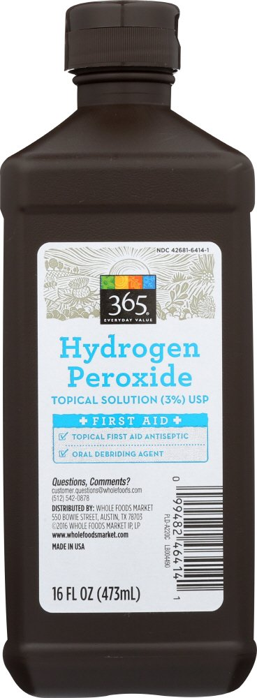 365 Everyday Value, Hydrogen Peroxide, 16 Fl Oz by 365 Everyday Value (Image #1)