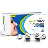 WoodyKnows 3 in 1 Nose Filters, Nasal Filters for Allergy Allergies, Combine Ultra Breathable, Super Defense and Gas & Pollutant Reducing Nasal Screens Dust Mask(3 Frames and 6 Pairs of Filters)(I-R)