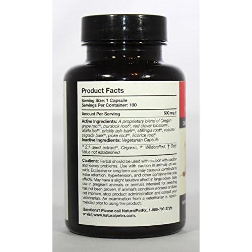 85%OFF Natural Pet RX Hoxsey-Detox Detoxification Support