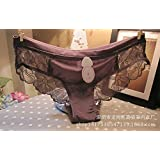 RF Europe low waist briefs lace cotton crotch ladies
