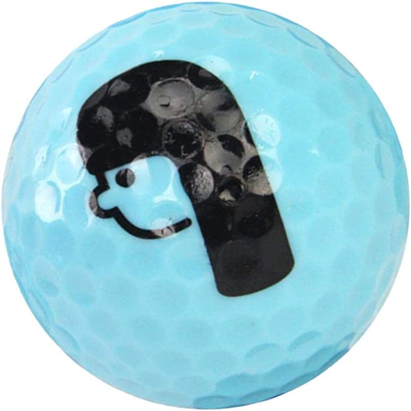 Baoblaze Bola de Golf Especial de Práctica o Regalo para Golfistas, Color Brillante