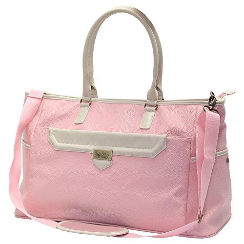 Nicole Miller Handbag in Salmon/Beige