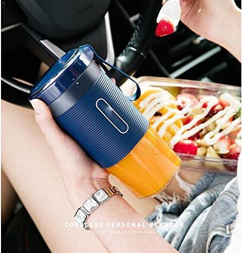 GSYYSZD Batidora portátil, Mini batidora Personal USB exprimidor de Frutas Recargable, Oficina de Viajes al Aire Libre