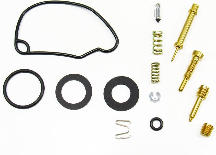 Outlaw Racing OR2542 Carburetor Carb Complete Master Repair Rebuild Kit Fits Honda CRF50F 2004-2005 Xr50R 2000-2003
