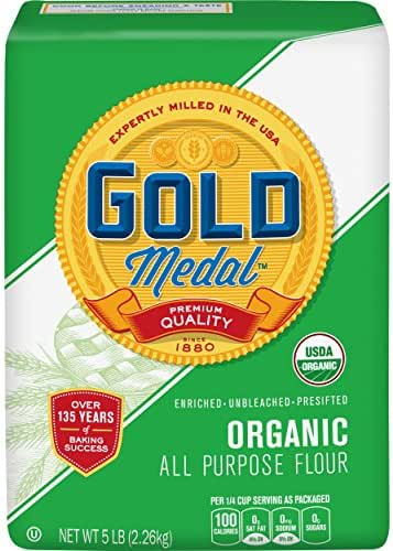 Flours & Meals: Gold Medal Organic All Purpose Flour