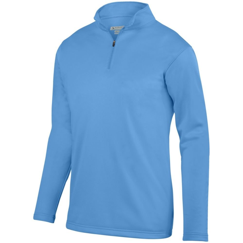 Columbia Blue Large Augusta Sports Youth Wicking Fleece Pullover