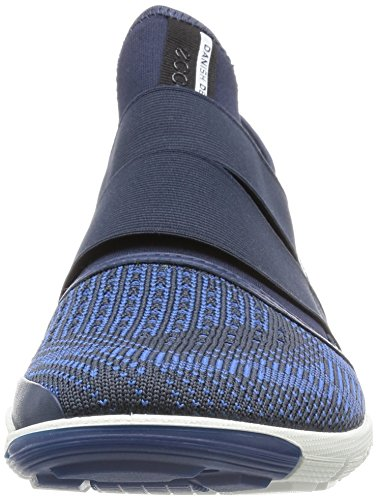 ECCO Intrinsic 2 Men's Sneaker Alta, Uomo, Blu(True Navy/Marine-Cobalt/Marine 59791), 46